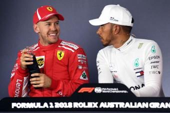 F1: Vettel és Hamilton le se tojják egymást