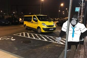 Így büntesd szelíden a bunkón parkolókat!