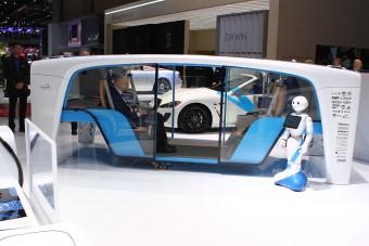 Önállóan közlekedő alvázra rakott doboz a jövő autója