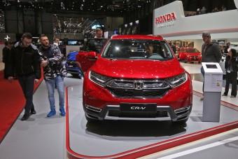 Hibrid is lesz a Honda új terepeséből