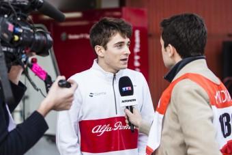 F1: Elhunyt apjának és Jules Bianchinak hálálkodott Leclerc