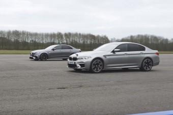 Lássuk, melyik a gyorsabb: BMW M5 vs. Mercedes-AMG E63 S
