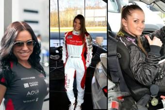 Magyar autóversenyző-nők, akiktől nem csak a pályán forr a levegő