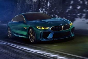 Minden BMW-k csúcsa lesz az M8 Gran Coupe