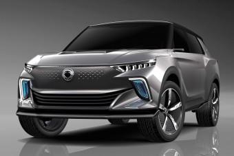 Elektromos SUV tanulmányt mutatott a SsangYong