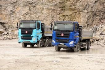 Erősebb motorokkal készülnek a Tatra-dömperek