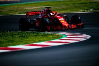 F1-teszt: Brutális pályarekord a Ferraritól