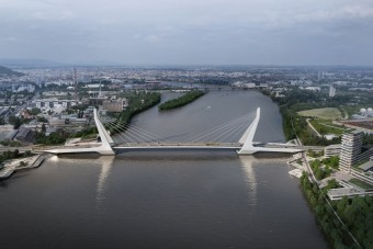 Ilyen lehet majd az új híd Budapesten