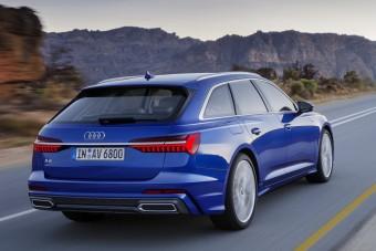 Videón az Audi A6 Avant