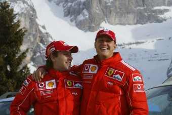 F1: Schuminak van egy titkos látogatója