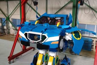 Megépítették a Transformert, amibe bele lehet ülni