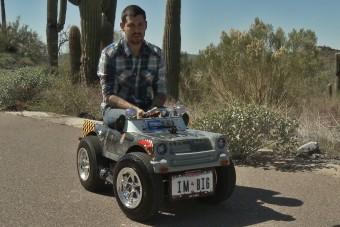 Ez a világ legkisebb autója