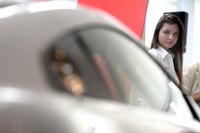 500 lóerős Audival versenyez Keszthelyi Vivien