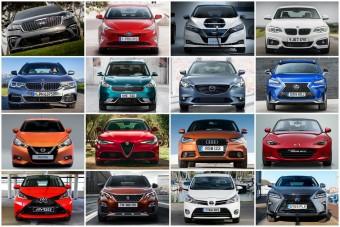 Tizenhat autó, aminek vigyorogva fogsz örülni