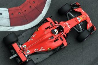F1: Hamilton Bakuban sem bírt Vettellel