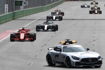 F1: Lassú a safety car? Ez a dolga!