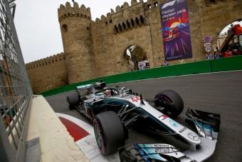 F1: Azerbajdzsán hosszabbított