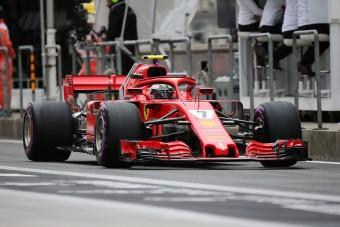 F1: Räikkönen Hamilton nyakán