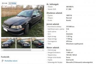 Szívünkhöz szól ez a használt Volvo-hirdetés, a tulajnak előtte megkeserítette az életét egy BMW
