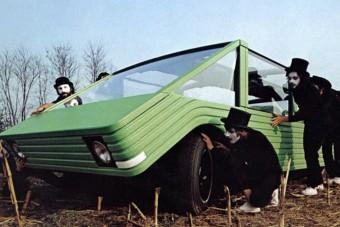 Jövőbe látott ez a fura, 1972-es Citroën koncepció