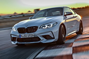Videón a BMW M2 Competition