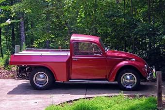 Jól néz ki, de nem sok mindenre jó a VW Bogár pickup