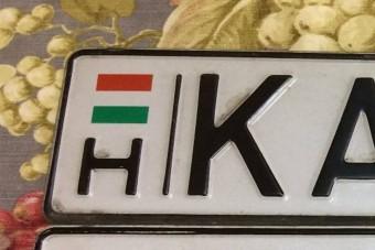 Ez lehet a legdrágább egyedi magyar rendszám, és most eladó