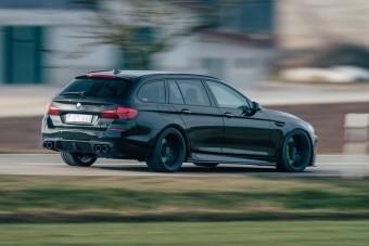 Megcsinálták az M5 Touringot, amit a BMW nem mert