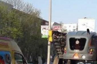 Egészen furcsa járművet fotóztak Nyíregyházán