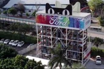 Ford-kiadó automatát építettek Kínában