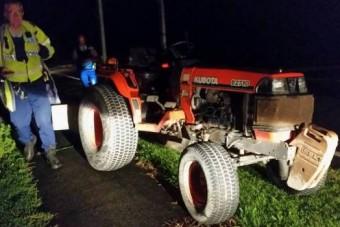 Csigatempóban üldözték a rendőrök a traktortolvajt