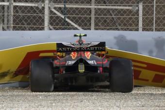 F1: Verstappen hibázott, nem a motor