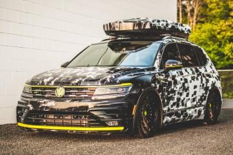 Különleges VW-tanulmányok neonsárgában