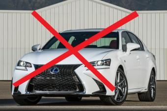 Most már biztos: befellegzett a Lexus GS-nek