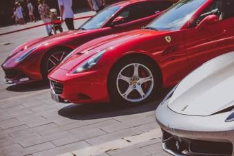 Egerben gyűltek össze a magyar Ferrari-tulajdonosok