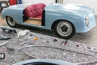 Újraépítik az első Porsche sportkocsit