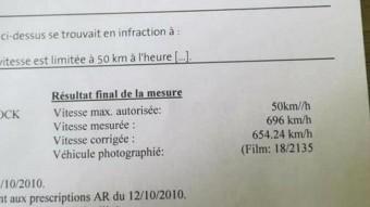 696 km/órás gyorshajtással fotóztak le egy Opel Astrát, még a büntetést is kiküldték