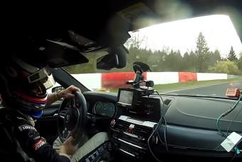 Így kenik az új BMW M5-ösnek a Nürburgringen
