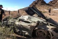 Elhagyott Lamborghinit találtak a nevadai sivatagban 1