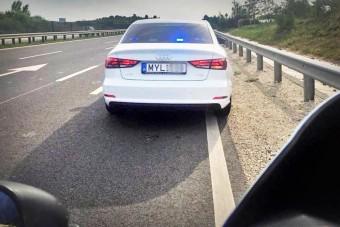 Új traffipax-módszer a hazai rendőrségnél