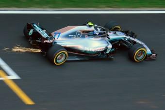 F1: Bottas brutálisan nyitott Barcelonában