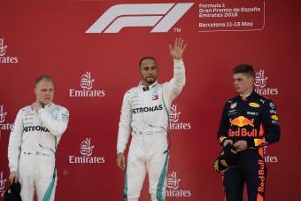 F1: Hamilton és az autója egy hullámhosszon