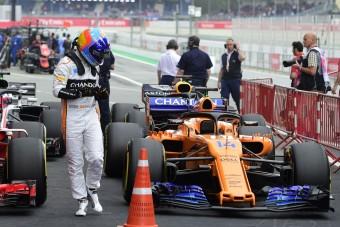 Alonso: Beértük a középmezőnyt!