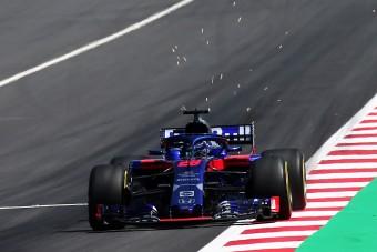 F1: Sosem bukott még ekkorát Hartley