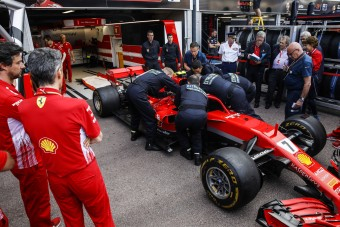 F1: Csalásgátlót szereltek a Ferrariba