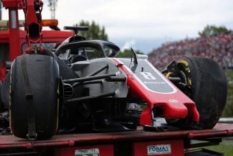 F1: A főnök megvédte a karambolos Grosjeant