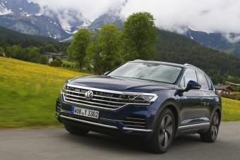 Nagyszínpad – Vezettük az új Volkswagen Touareget