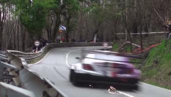 A tökösség utolsó mentsvára a hegyi verseny, így zúz fel egy 630 lovas Mercedes