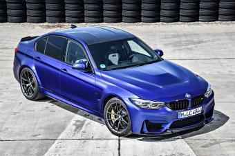 Jelentős szénlábnyommal érkezik a BMW M3 CS
