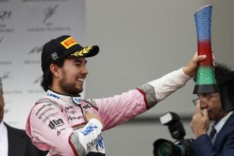 F1: Pereznek a szíve szakadt meg a csapat feldobásáért